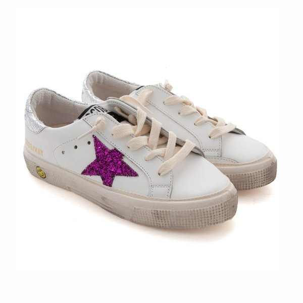 Golden Goose - SNEAKERS MAY BIANCHE BAMBINA