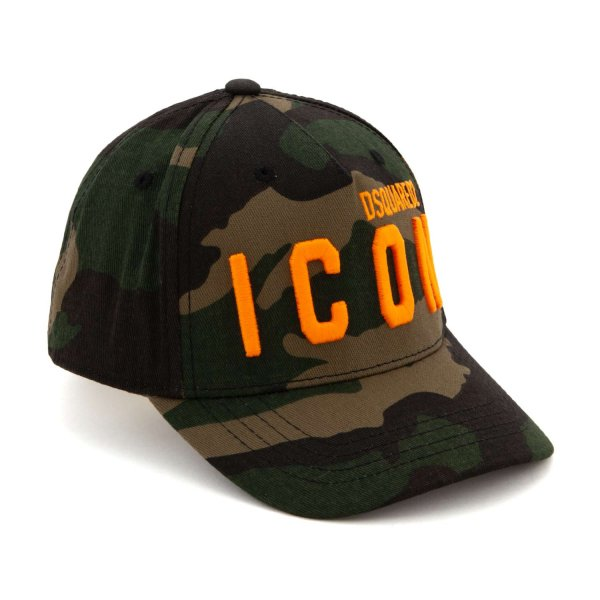 Dsquared2 - CAPPELLO MILITARE ICON BOY