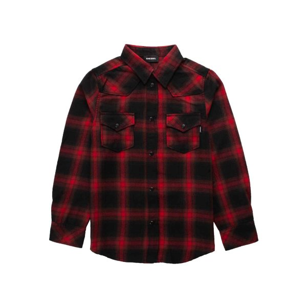 Diesel - CHECK SHIRT FOR TEEN AND BOY