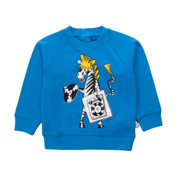 Stella Mccartney - BABY BOY ZEBRA SWEATSHIRT