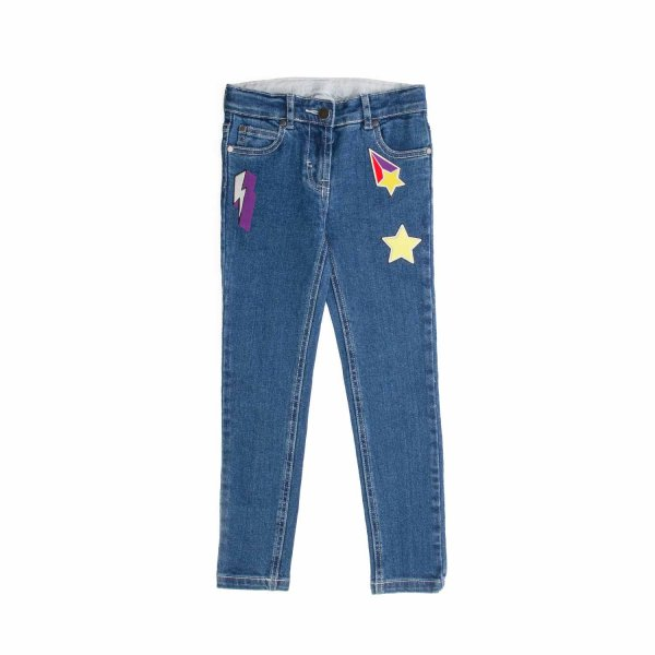 Stella Mccartney - PATCH JEANS FOR GIRL
