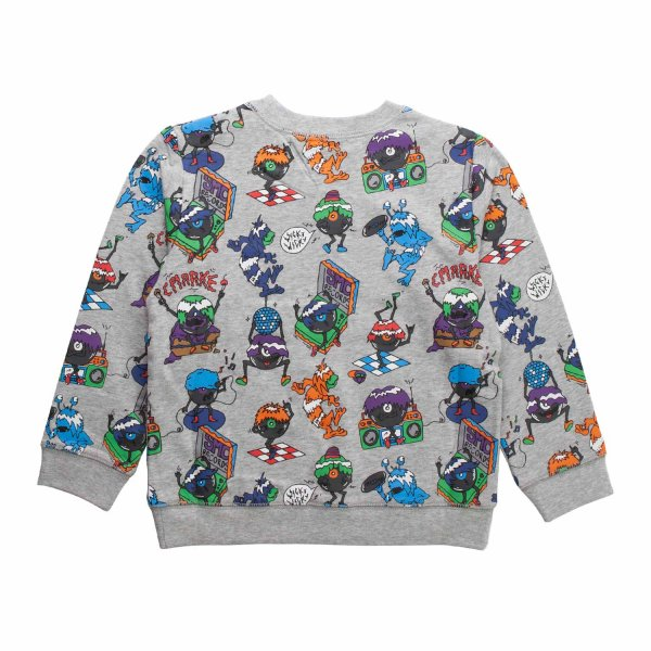 Stella Mccartney - MONSTER SWEATSHIRT FOR BOY