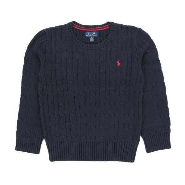 Ralph Lauren - BLUE PULLOVER FOR TEEN AND BOYS