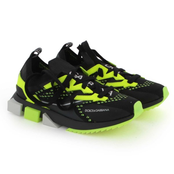 Dolce & Gabbana - FLUO SNEAKERS FOR BOY