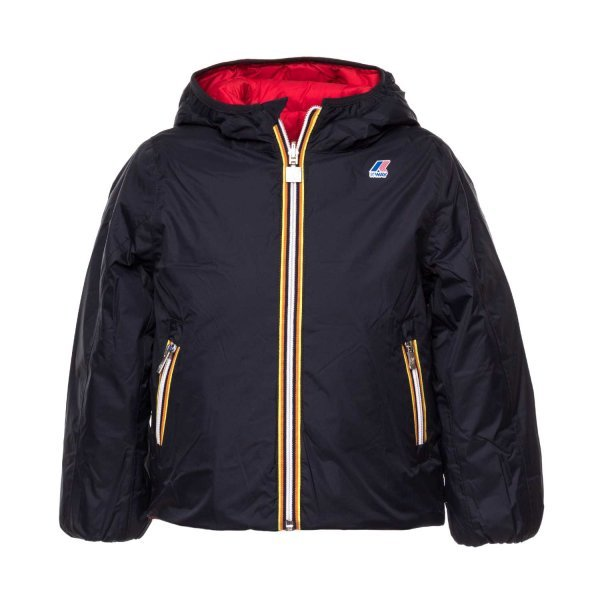 K-Way - DOUBLE-FACE DOWN JACKET FOR BOYS