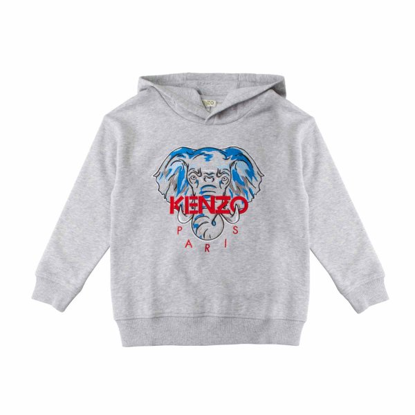 Kenzo - GREY HOODIE FOR BOY AND TEEN