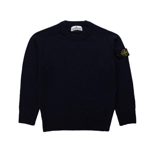 Stone Island - BLUE SWEATER FOR BOY AND TEEN