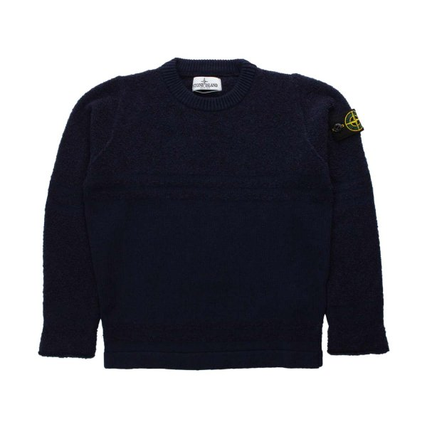 Stone Island - CASHMERE PULLOVER FOR BOY