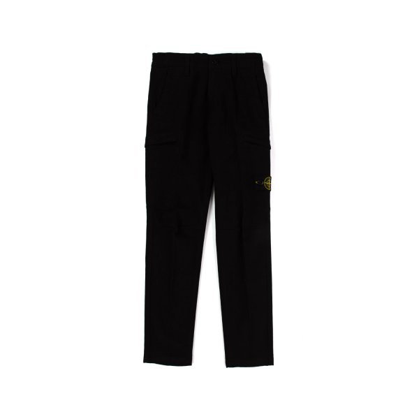 Stone Island - BLACK TROUSERS FOR TEEN AND BOY