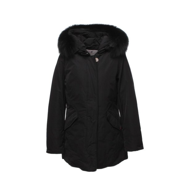 Woolrich - GIRL BLACK LUXURY ARCTIC PARKA
