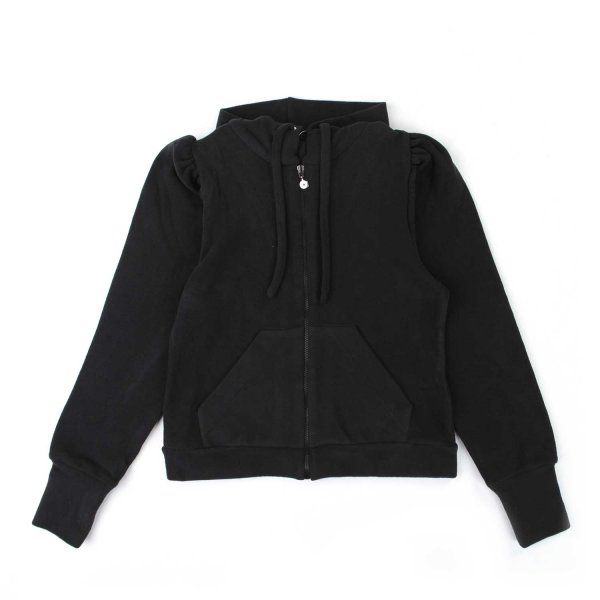 Elsy - BLACK HOODIE FOR GIRL AND TEEN