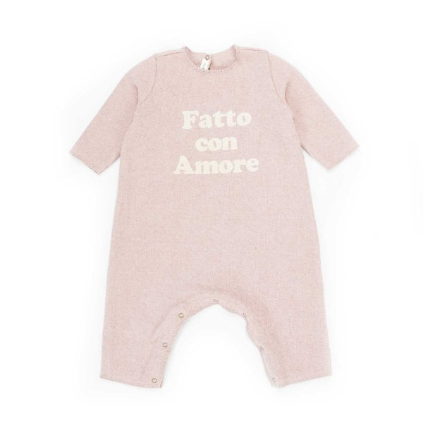 Zhoe & Tobiah - PINK PRINTED ROMPER FOR BABY GIRL