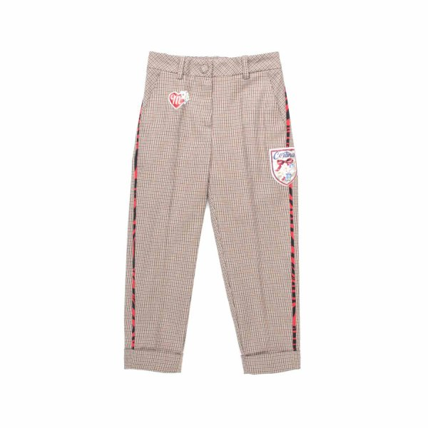 Monnalisa - PATCH TROUSERS FOR GIRL