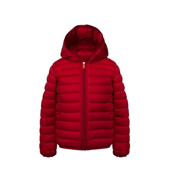 Save The Duck - RED DOWN JACKET FOR TEEN AND BOY
