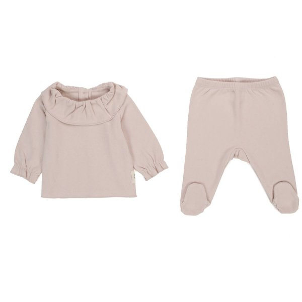 Douuod - POWDER PINK OUTFIT FOR BABY GIRL