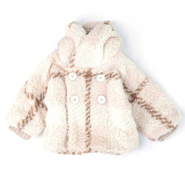 One More In The Family - CAPPOTTO BEIGE BIMBO