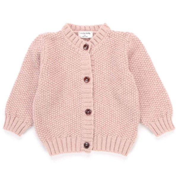 One More In The Family - CARDIGAN ROSA BABY