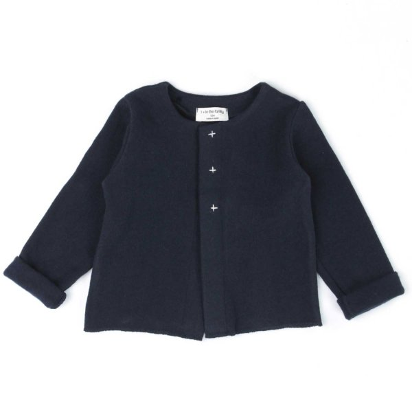 One More In The Family - CARDIGAN BLU BIMBA