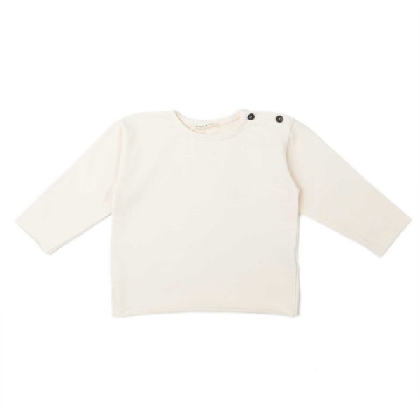 Babe & Tess - BABY CREAM COTTON T-SHIRT