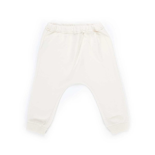 Babe & Tess - BABY WHITE COTTON TROUSERS