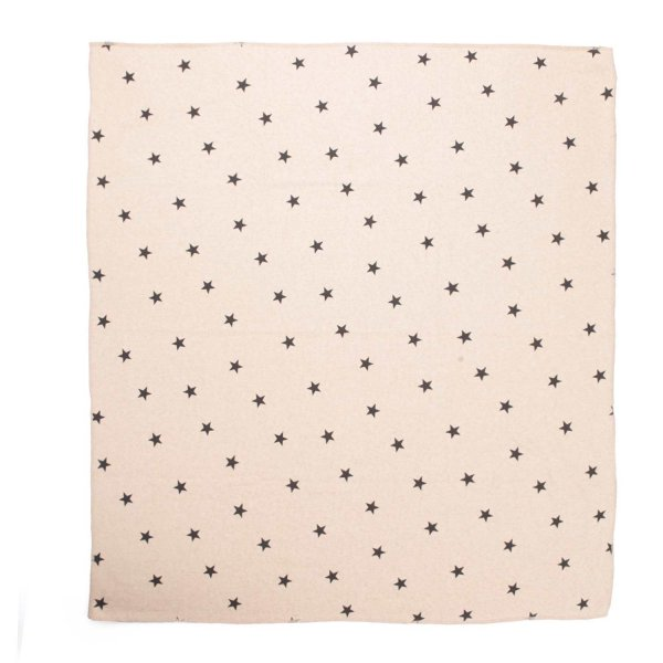 Babe & Tess - STAR PRINT BEIGE BLANKET FOR BABY