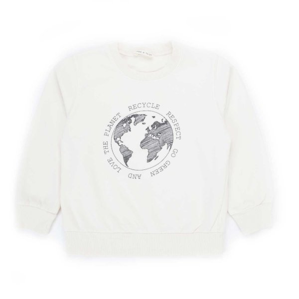 Babe & Tess - BOY AND GIRL COTTON SWEATSHIRT