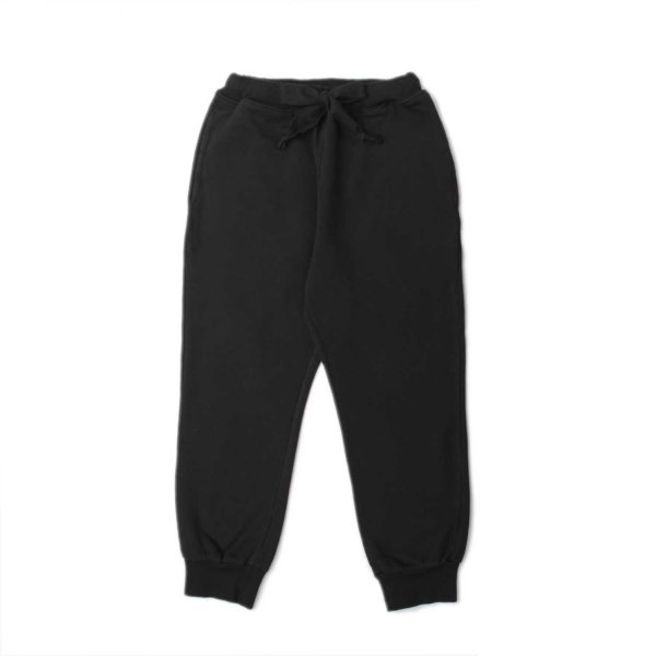Babe & Tess - UNISEX BLACK COTTON TROUSERS