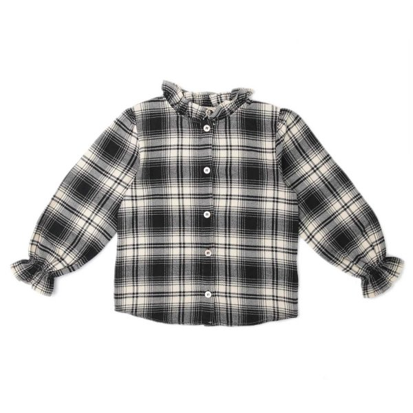 Babe & Tess - LITTLE GIRL CHECK SHIRT