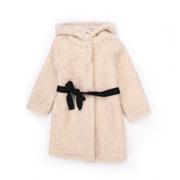 Babe & Tess - LITTLE GIRL ECO-FUR COAT