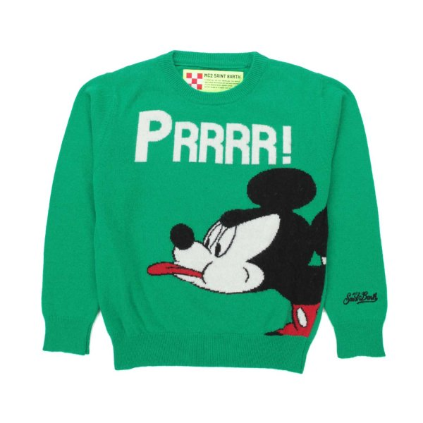 Mc2 Saint Barth - UNISEX MICKEY MOUSE PULLOVER
