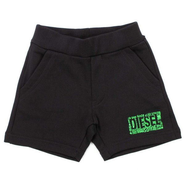 Diesel - COTTON SHORTS FOR BABY BOYS