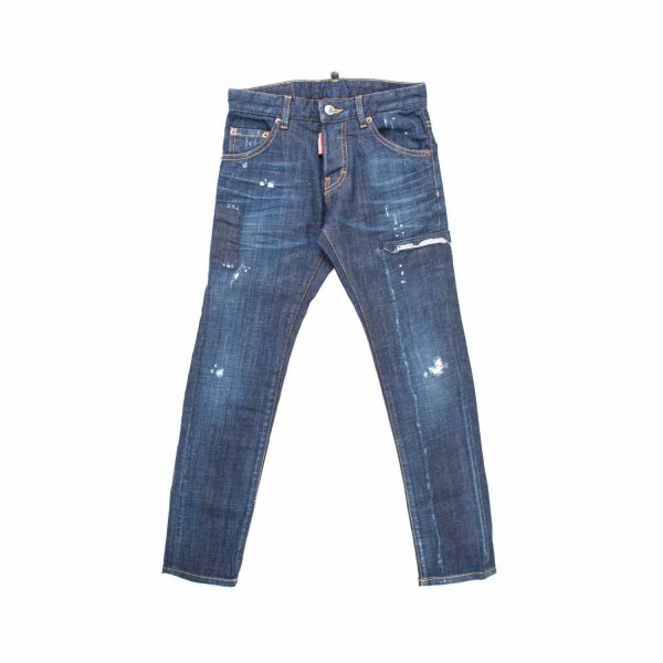 Dsquared2 - DISTRESSED JEANS FOR TEEN AND BOYS