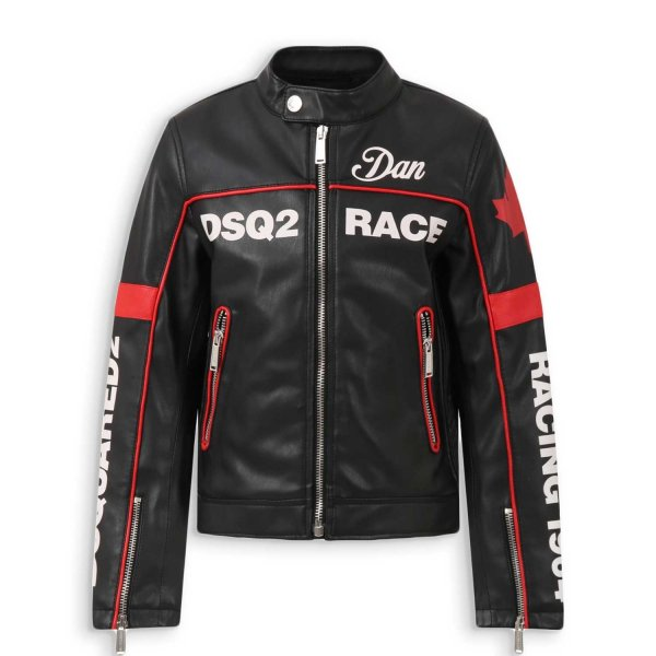 Dsquared2 - BIKER JACKET FOR BOYS