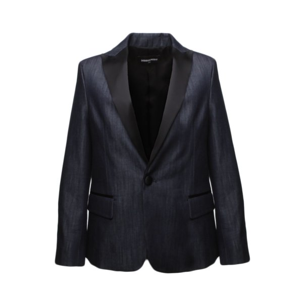 Dsquared2 - DENIM EFFECT BLAZER FOR BOY