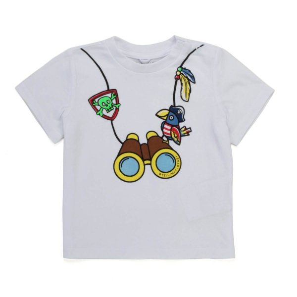 Stella Mccartney - BABY BOY PURE COTTON T-SHIRT