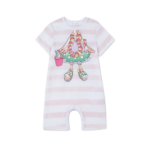 Stella Mccartney - COTTON ROMPERS FOR BABY GIRL
