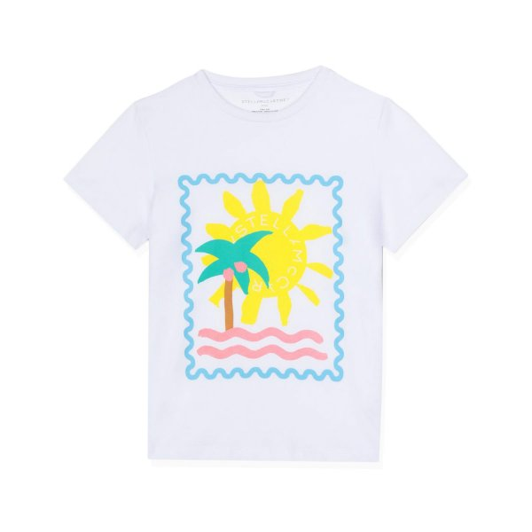 Stella Mccartney - GIRL PRINTED T-SHIRT 01