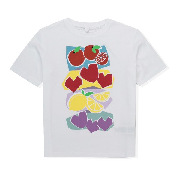 Stella Mccartney - PRINTED T-SHIRT FOR GIRL 01