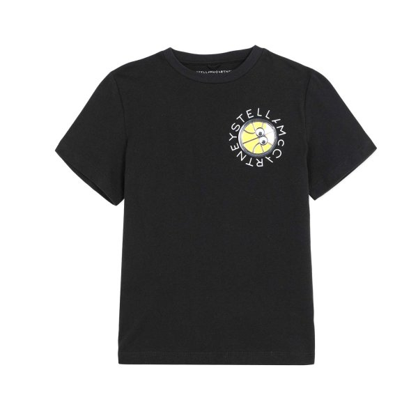 Stella Mccartney - LITTLE BOY BLACK T-SHIRT