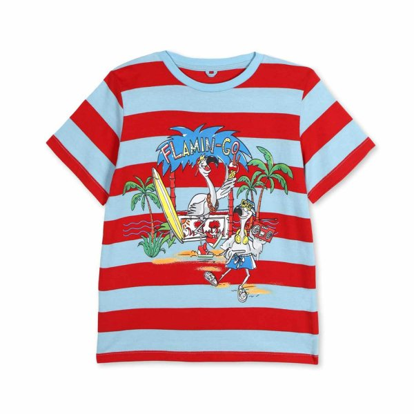 Stella Mccartney - BOY AND GIRL STRIPED T-SHIRT