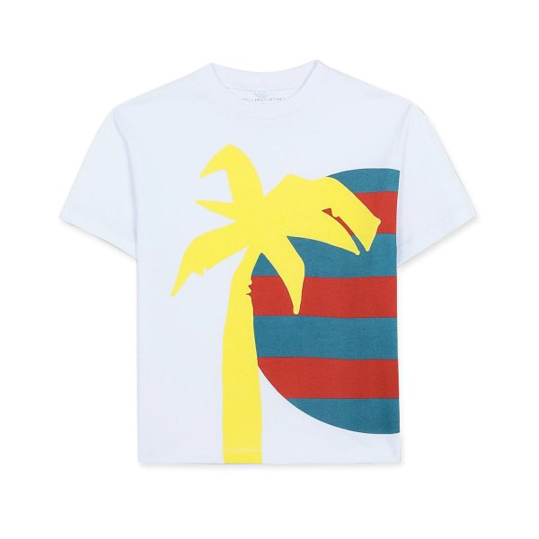 Stella Mccartney - LITTLE BOYS COTTON T-SHIRT