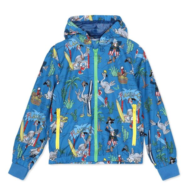 Stella Mccartney - LIGHTWEIGHT BLUE JACKET FOR LITTLE BOY