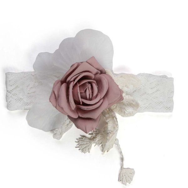 Mimilú - CEREMONY HEADBAND FOR BABY GIRL