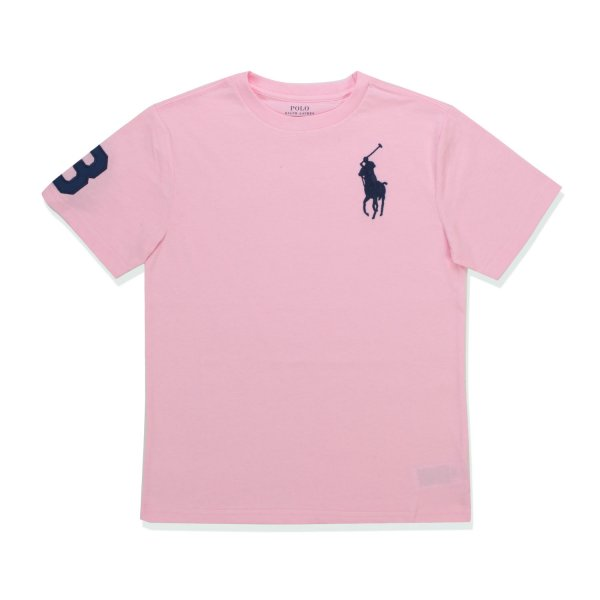 Ralph Lauren - LOGO PINK T-SHIRT FOR GIRL 02
