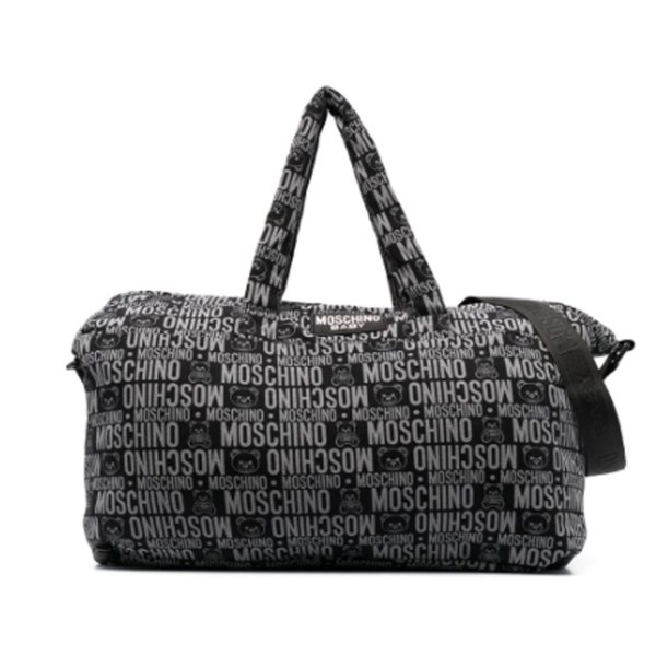 Moschino - LOGO PRINT MOMMY BAG