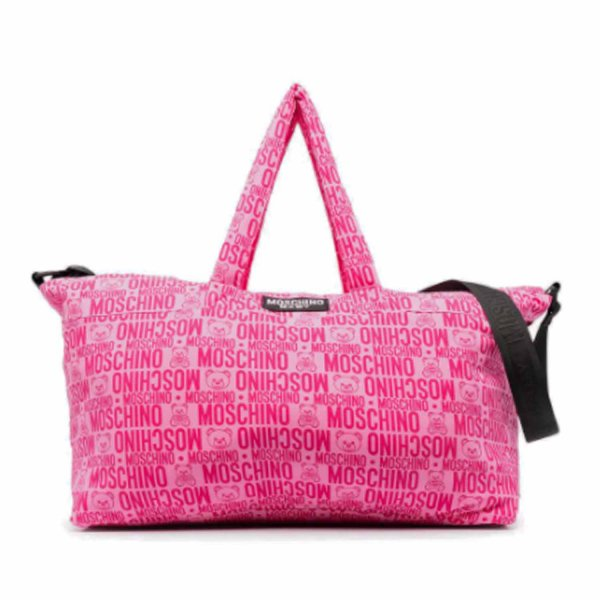 Moschino - FUCHSIA MOMMY BAG WITH LOGO
