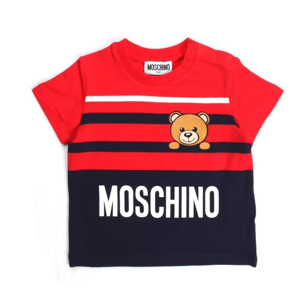 Moschino - BABY T-SHIRT WITH LOGO