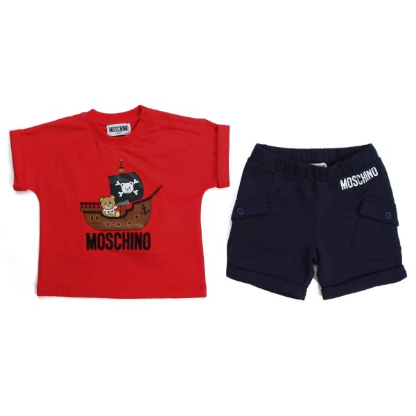 Moschino - COTTON OUTFIT FOR BABY BOYS