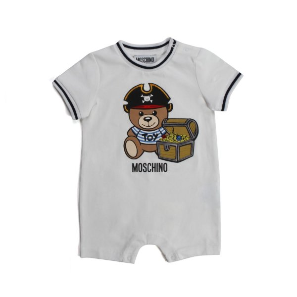 Moschino - TEDDY BEAR ROMPER FOR BABY
