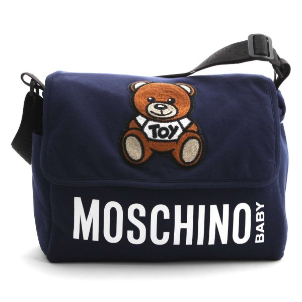 Moschino - TEDDY BEAR BLUE MOMMY BAG